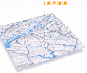 3d view of Kaehyŏng-ni