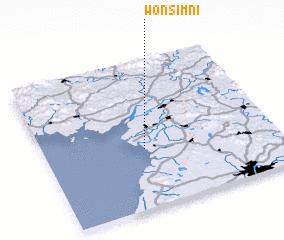3d view of Wŏnsim-ni