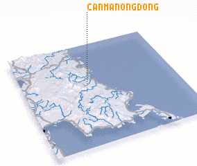 3d view of Canmanongdong
