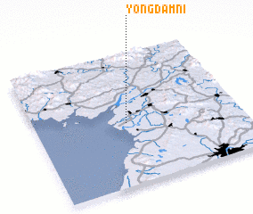 3d view of Yongdam-ni