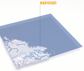 3d view of Haponan