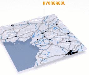3d view of Hyŏn\