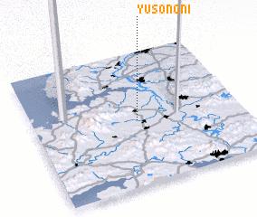 3d view of Yusŏng-ni