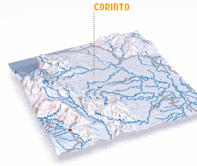 3d view of Corinto