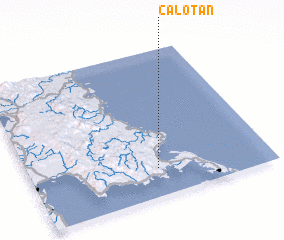 3d view of Calotan