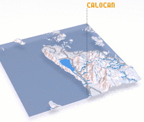 3d view of Caloc-an