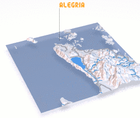3d view of Alegria