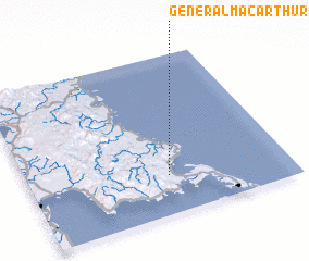 3d view of General MacArthur