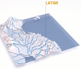 3d view of Latian