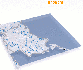 3d view of Hernani