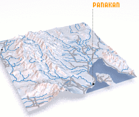 3d view of Panakan