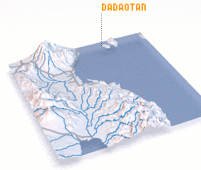 3d view of Dadaotan