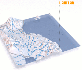 3d view of Lamitan
