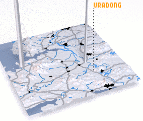 3d view of Ura-dong