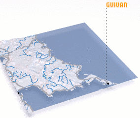 3d view of Guiuan