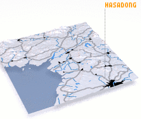 3d view of Hasa-dong