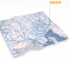 3d view of Madaum