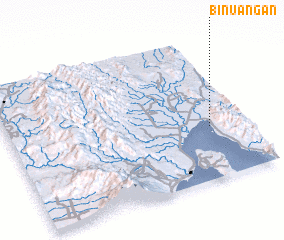 3d view of Binuangan