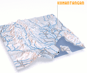 3d view of Komantangan