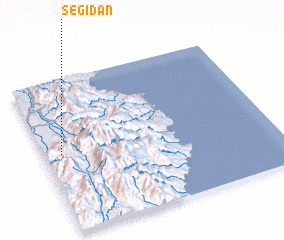 3d view of Segidan