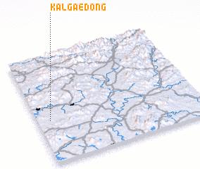 3d view of Kalgae-dong