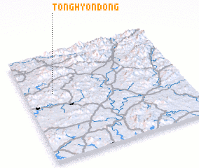 3d view of Tonghyŏn-dong