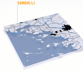 3d view of Samdul-li