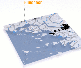 3d view of Kŭmgong-ni