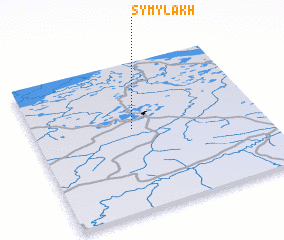 3d view of Symylakh