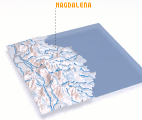 3d view of Magdalena