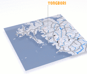 3d view of Yŏngbo-ri