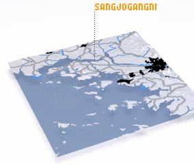 3d view of Sangjogang-ni
