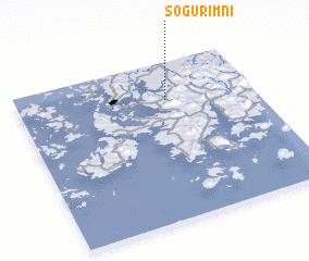 3d view of Sŏgurim-ni