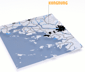 3d view of Kongnŭng