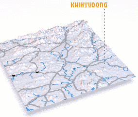 3d view of Kwihyu-dong