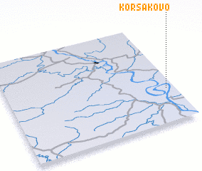3d view of Korsakovo