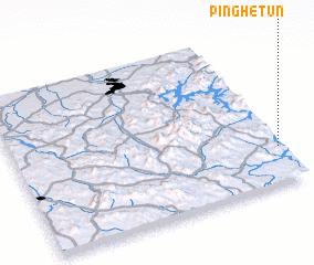 3d view of Pinghetun