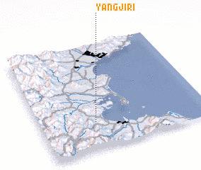 3d view of Yangji-ri