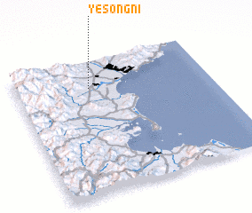 3d view of Yesŏng-ni