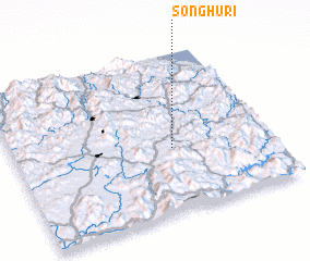 3d view of Sŏnghu-ri