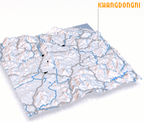 3d view of Kwangdong-ni