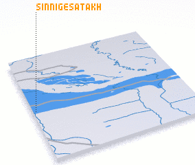 3d view of Sinniges-Atakh