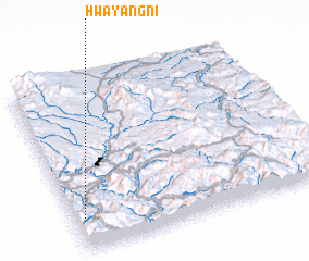 3d view of Hwayang-ni