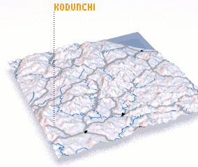 3d view of Kodŭnch\