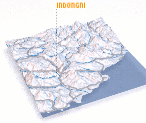 3d view of Indong-ni
