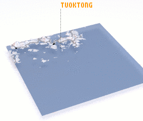 3d view of Tuŏk-tong