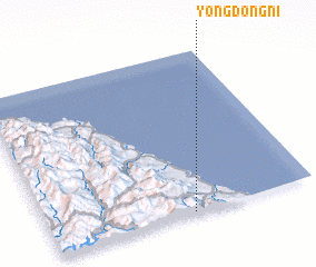 3d view of Yŏngdŏng-ni