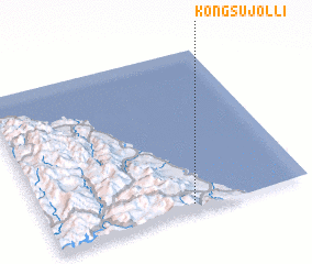 3d view of Kongsujŏl-li