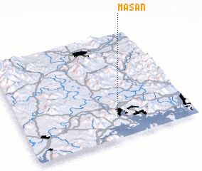 3d view of Masan