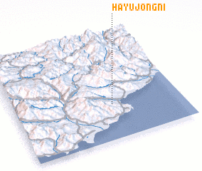 3d view of Hayujŏng-ni